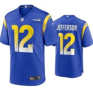 Rams Van Jefferson Royal Jersey